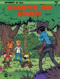 Cover Thumbnail for Sprint & Co. (Forlaget For Alle A/S, 1974 series) #7 - Kampen om arven