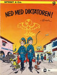 Cover Thumbnail for Sprint & Co. (Forlaget For Alle A/S, 1974 series) #9 - Ned med diktatoren!