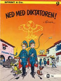 Cover Thumbnail for Sprint & Co. (Forlaget For Alle A/S, 1974 series) #9 - Ned med diktatoren!