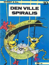 Cover Thumbnail for Sprint & Co. (Forlaget For Alle A/S, 1974 series) #10 - Den ville Spiralis