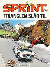 Cover Thumbnail for Sprint [Sprint & Co.] (Interpresse, 1977 series) #15 - Trianglen slår til