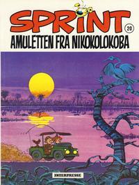 Cover Thumbnail for Sprint [Sprint & Co.] (Interpresse, 1977 series) #20 - Amuletten fra Nikokolokoba
