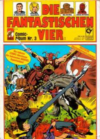 Cover Thumbnail for Die Fantastischen Vier (Condor, 1979 series) #3