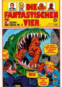 Cover Thumbnail for Die Fantastischen Vier (Condor, 1979 series) #4