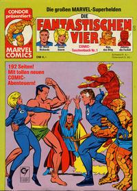 Cover Thumbnail for Die Fantastischen Vier (Condor, 1979 series) #1