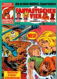 Cover Thumbnail for Die Fantastischen Vier (Condor, 1979 series) #5