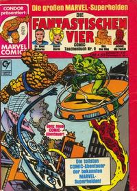 Cover Thumbnail for Die Fantastischen Vier (Condor, 1979 series) #9
