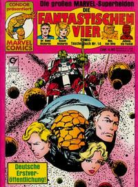 Cover Thumbnail for Die Fantastischen Vier (Condor, 1979 series) #14