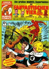 Cover Thumbnail for Die Fantastischen Vier (Condor, 1979 series) #16