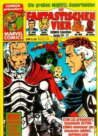 Cover Thumbnail for Die Fantastischen Vier (Condor, 1979 series) #17
