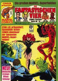 Cover Thumbnail for Die Fantastischen Vier (Condor, 1979 series) #19