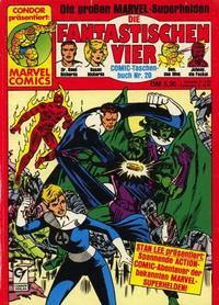 Cover Thumbnail for Die Fantastischen Vier (Condor, 1979 series) #20