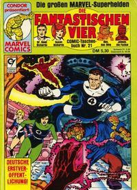 Cover Thumbnail for Die Fantastischen Vier (Condor, 1979 series) #21