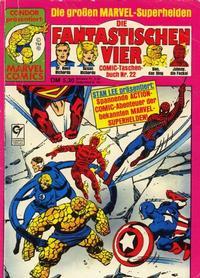 Cover for Die Fantastischen Vier (Condor, 1979 series) #22