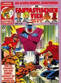 Cover Thumbnail for Die Fantastischen Vier (Condor, 1979 series) #23