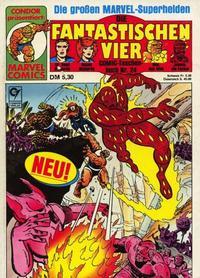 Cover Thumbnail for Die Fantastischen Vier (Condor, 1979 series) #24