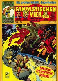 Cover Thumbnail for Die Fantastischen Vier (Condor, 1979 series) #25