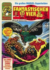 Cover Thumbnail for Die Fantastischen Vier (Condor, 1979 series) #26