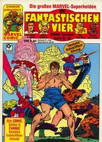 Cover Thumbnail for Die Fantastischen Vier (Condor, 1979 series) #28