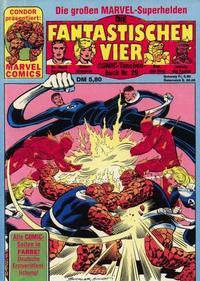 Cover Thumbnail for Die Fantastischen Vier (Condor, 1979 series) #29