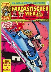 Cover Thumbnail for Die Fantastischen Vier (Condor, 1979 series) #31