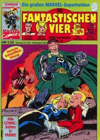 Cover Thumbnail for Die Fantastischen Vier (Condor, 1979 series) #34