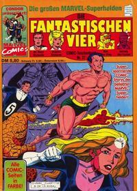 Cover Thumbnail for Die Fantastischen Vier (Condor, 1979 series) #37