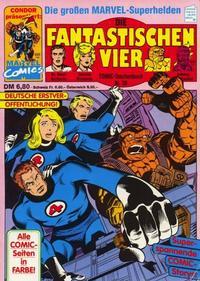 Cover Thumbnail for Die Fantastischen Vier (Condor, 1979 series) #38