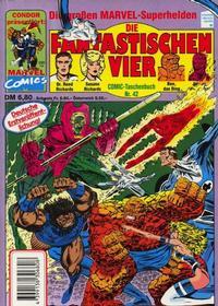 Cover Thumbnail for Die Fantastischen Vier (Condor, 1979 series) #42