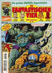 Cover Thumbnail for Die Fantastischen Vier (Condor, 1979 series) #43