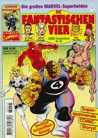 Cover Thumbnail for Die Fantastischen Vier (Condor, 1979 series) #45