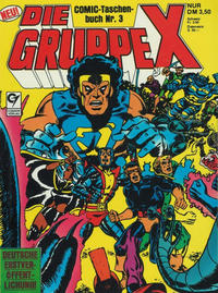 Cover Thumbnail for Die Gruppe X (Condor, 1985 series) #3