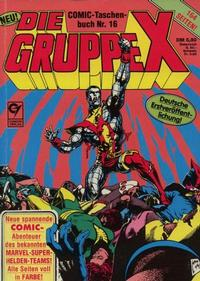 Cover Thumbnail for Die Gruppe X (Condor, 1985 series) #16