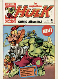 Cover Thumbnail for Hulk (Condor, 1979 series) #1