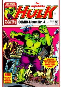 Cover Thumbnail for Hulk (Condor, 1979 series) #4