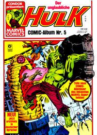 Cover Thumbnail for Hulk (Condor, 1979 series) #5
