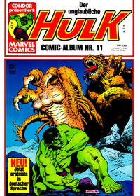 Cover Thumbnail for Hulk (Condor, 1979 series) #11