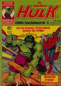 Cover Thumbnail for Der unglaubliche Hulk (Condor, 1980 series) #5