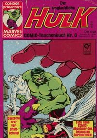 Cover Thumbnail for Der unglaubliche Hulk (Condor, 1980 series) #6