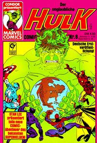 Cover Thumbnail for Der unglaubliche Hulk (Condor, 1980 series) #8