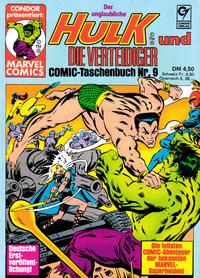 Cover Thumbnail for Der unglaubliche Hulk (Condor, 1980 series) #9