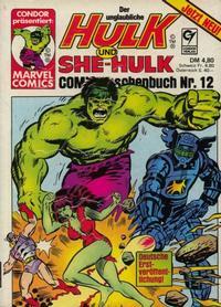 Cover Thumbnail for Der unglaubliche Hulk (Condor, 1980 series) #12