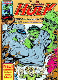 Cover Thumbnail for Der unglaubliche Hulk (Condor, 1980 series) #33