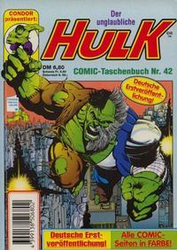 Cover Thumbnail for Der unglaubliche Hulk (Condor, 1980 series) #42
