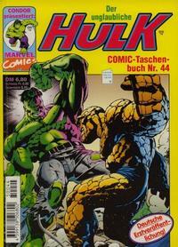 Cover Thumbnail for Der unglaubliche Hulk (Condor, 1980 series) #44