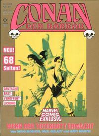 Cover Thumbnail for Marvel Comic Exklusiv (Condor, 1987 series) #10 - Conan - Wenn der Totengott erwacht