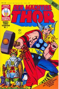 Cover Thumbnail for Marvel-Comic-Sonderheft (Condor, 1980 series) #1