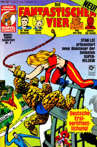 Cover Thumbnail for Marvel-Comic-Sonderheft (Condor, 1980 series) #2