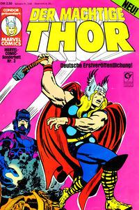 Cover Thumbnail for Marvel-Comic-Sonderheft (Condor, 1980 series) #3