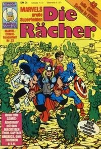 Cover Thumbnail for Marvel-Comic-Sonderheft (Condor, 1980 series) #23
